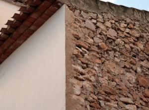 Fassade aus Holz oder aus Putz