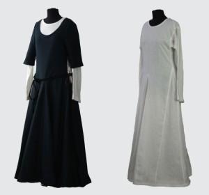 Mittelalterliches Frauengewand